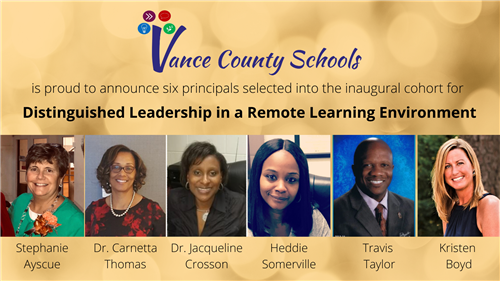 Distinguished Leadership in a Remote Learning Environment State Cohort Announced!